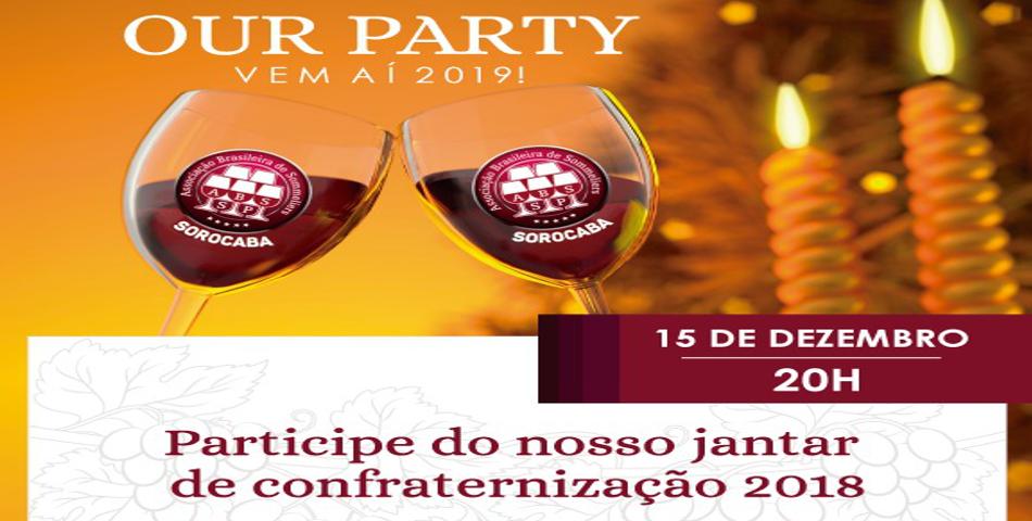 Jantar de Confraternização 2018 - ABS Sorocaba