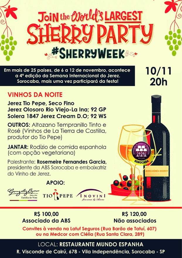 Sherry Party