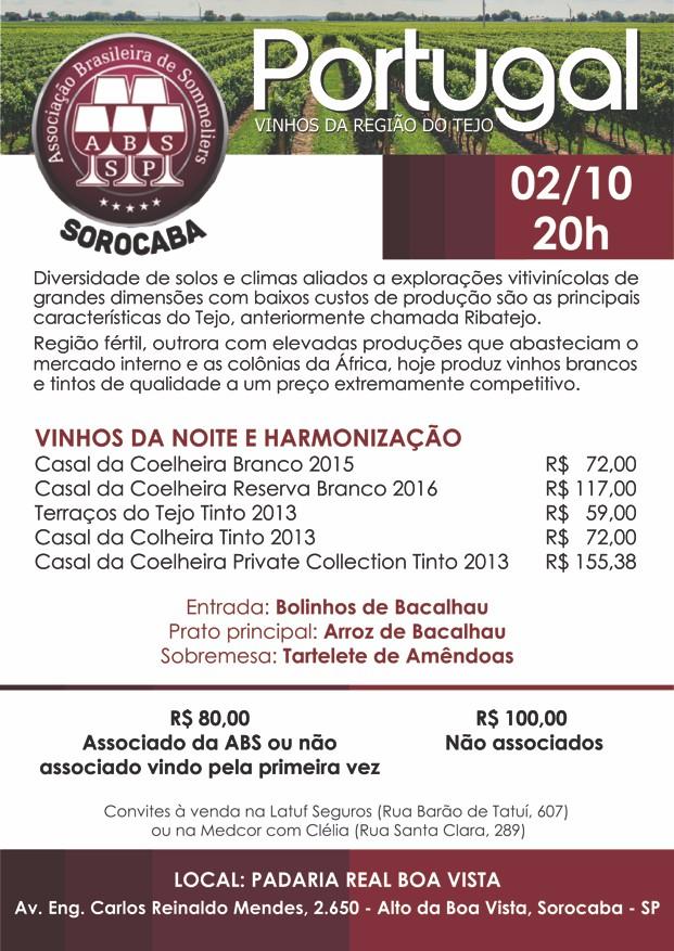 Vinhos Portugueses da Região do Tejo